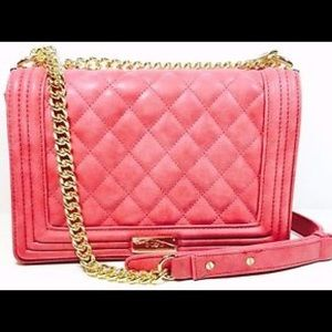BCBG Quilted Shoulder Bag